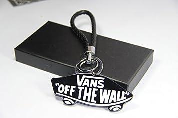 e449 Tendance coche emblema llave cinta anillo llavero de la ...