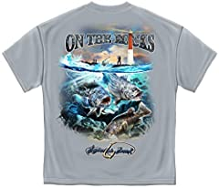 Fishing T-SHIRT On the Rocks Striped Bass Sea Bass Black Fish 100% Cotton T-SHIRT are the perfect way to show your pride in your job or your country. Our t shirts are an easy way to daily wear t shirts that have a message. Fishing On the Rock...