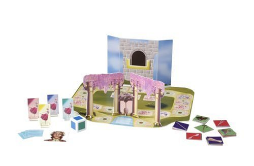 Barbie and the 12 Princesses Board Game