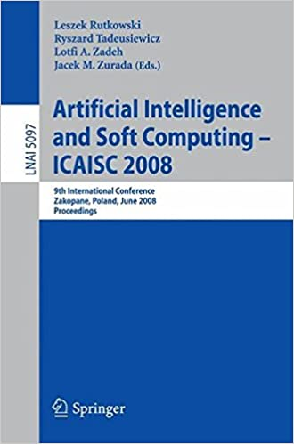 Artificial Intelligence and Soft Computing - ICAISC 2008: