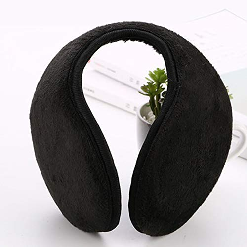 Sebastianee MenS Ear Warm Winter MenS Earmuffs Plush Earmuffs Solid Color Earmuffs