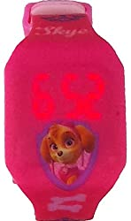Paw Patrol Kid's LED Pink Watch with Graphic Band PAW4017