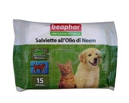 Toallitas Perro y Gato Antiparasitarias Repelentes