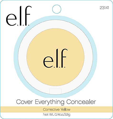 e.l.f. Cover Everything Concealer, Corrective Yellow, 0.14 Ounce -