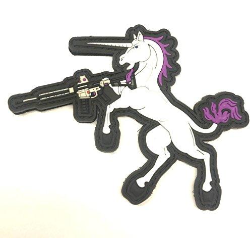 Quik2U Tactical Unicorn PVC Morale Patch 3