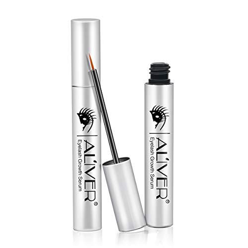 Lens Majestic - Eyelash Growth Serum, Natural Eyebrow Enhancer, Brow & Lash Enhancing Formula for Longer, Thicker Eyelashes and Eyebrows 5ML