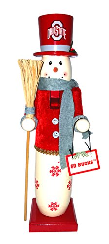 Santa's Workshop OHB036 Ohio State Snowman Nutcracker, 15