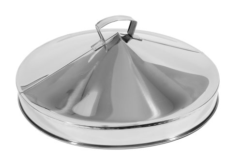 Town Food Service 24 Inch Stainless Steel Steamer Cover Steamer Stainless Steel Cover
