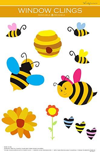 (Bumblebee Window Cling)