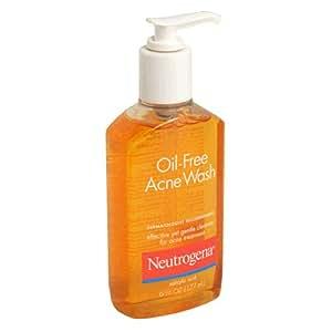 Neutrogena Oil-Free Acne Face Wash With Salicylic Acid, 6 Oz. (Pack of 3)