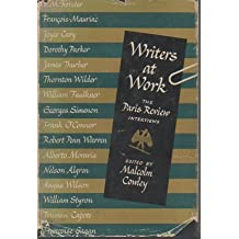 Writers at Work -- The Paris Review Interviews -- Volume 1