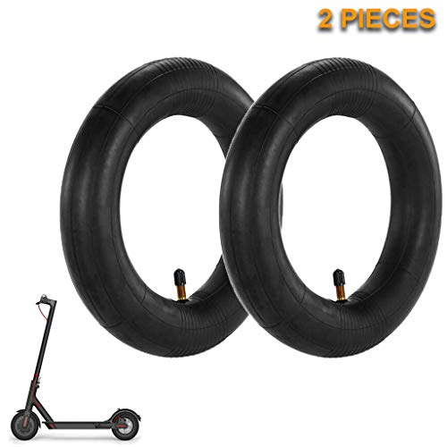 Sikye 2Pcs Butyl Rubber Inner Tube Pneumatic Tires for Xiaomi Mijia M365 Electric Scooter 8 1/2x2 - Scooter Suspension Wheel