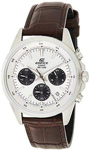 Casio Edifice Chronograph White Dial Men #39;s Watch   EFR 527L 7AVUDF EX102