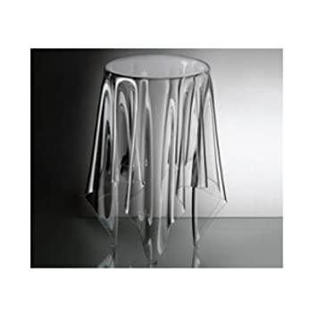 Essey Tall Illusion Table, Clear