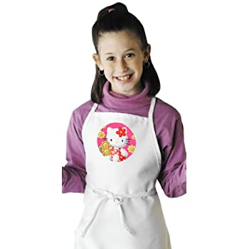 amazoncom hello kitty cute kids aprons for children