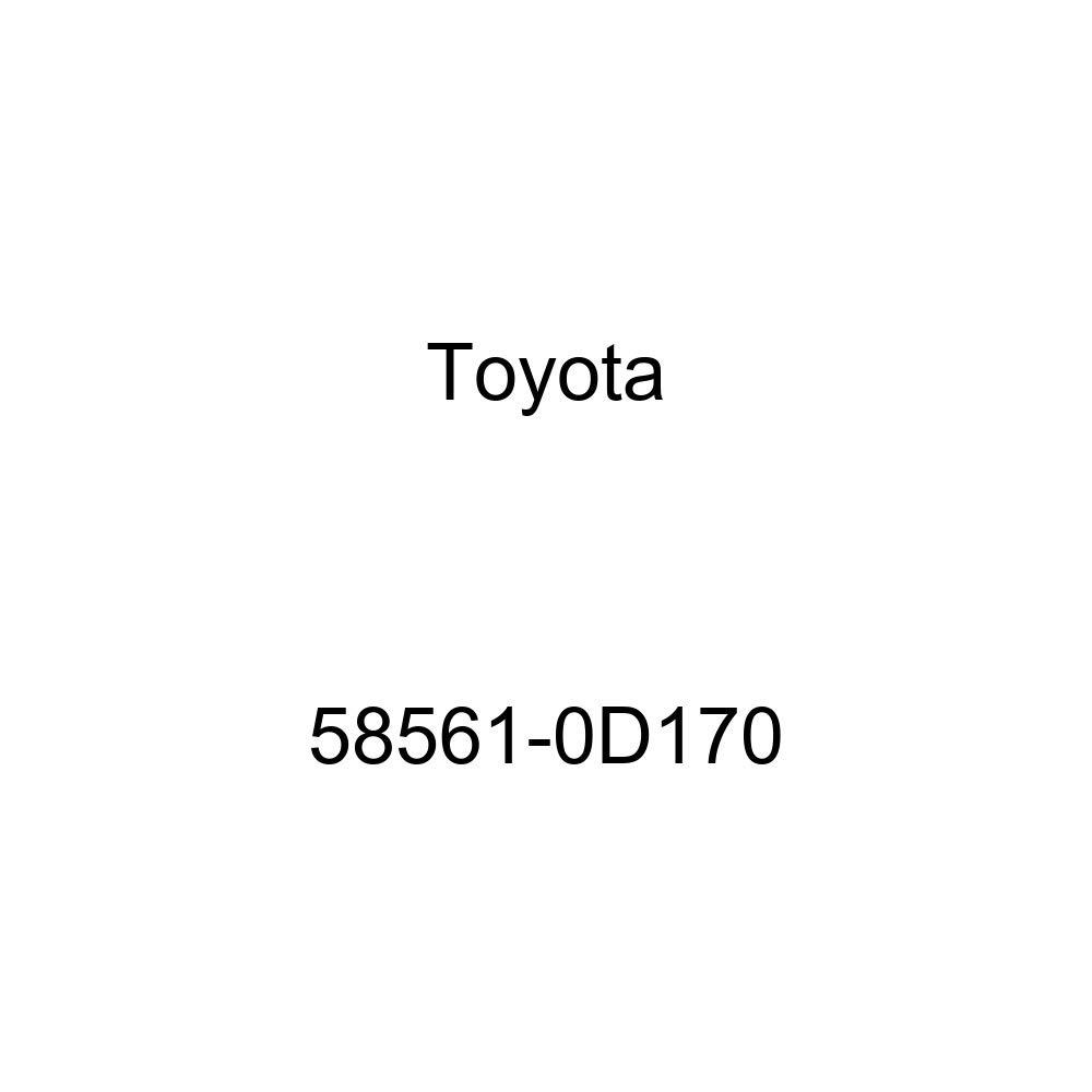 TOYOTA 58561-0D170 Floor Silencer