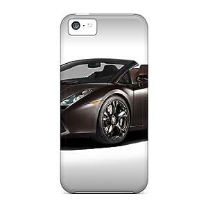 Awesome Phone Case Defender Tpu Hard Case Cover For Iphone 5c- Lamborghini Gallardo Lp560 4 Ad Personam Spyder
