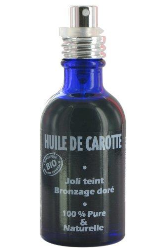 acheter huile de carotte bronzage