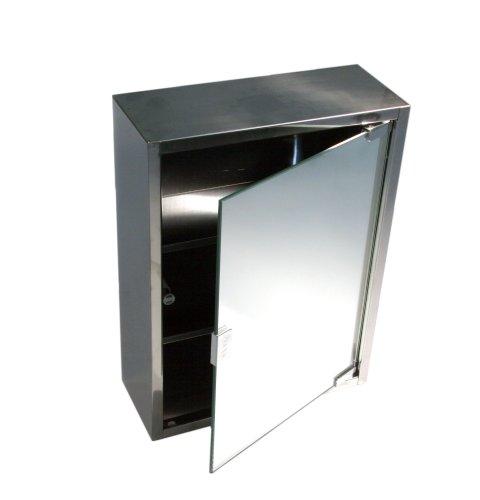 Amazon.de: Artemo 280728 Spiegelschrank Edelstahl 40x30x12 cm