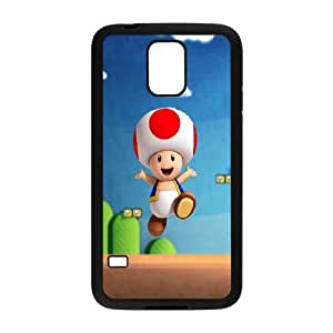 Samsung Galaxy S5 Cell Phone Case Black Super Mario (2) GY9093683