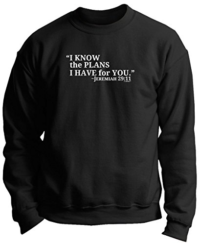 I Know the Plans I Have for You Jeremiah 29:11 Premium Crewneck Sweatshirt