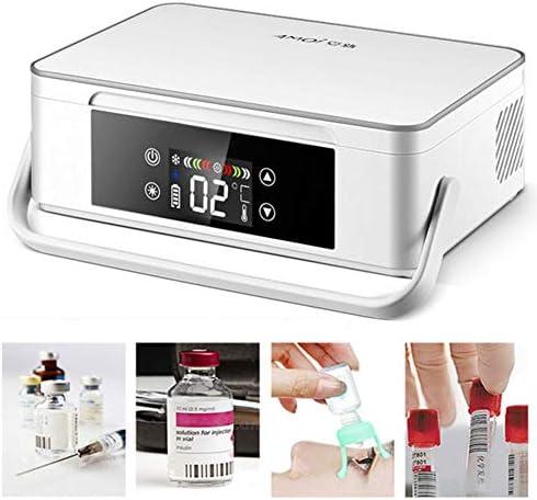JL Temperatur Kühlschrank Insulinkühler Kühlbox Drug Reefer 2-18 ° C für Medikamente