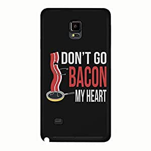 Samsung Galaxy Note 4 Best Friends Lovers Case Cover Cartoon Caterpillar Funny Don'T Go Bacon My Heart Couple Phone Case Cover DIY Screen Protector Shell for Samsung Galaxy Note 4
