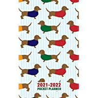 Image for 2021 - 2022 Pocket Planner: 2 Year Monthly Pocket Organizer & Calendar 24 Months January 2021-December 2022 With Motivational Quotes Small Size - Dachshund