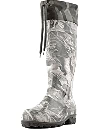 Men's 16'' Insulated Hunting Camo Waterproof Rubber Boots