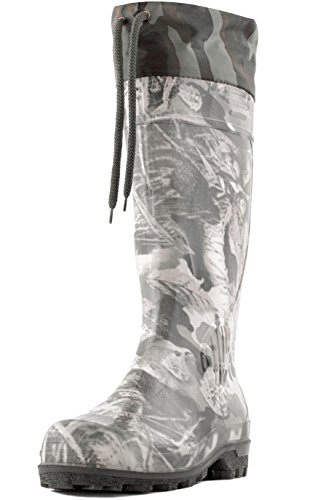 rubber insulated hunting boots - 6