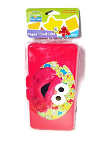 Diaper Wipes Travel Case Sesame Street (Red Elmo)