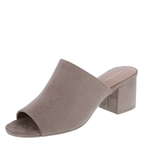 Christian Siriano for Payless Women's Nikolle Low Heel Slide