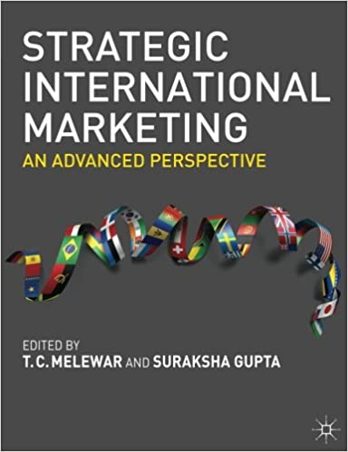 Strategic International Marketing: An Advanced Perspective