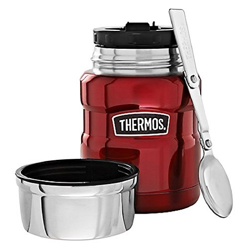 Genuine Thermos Stainless 16 Ounce Cranberry