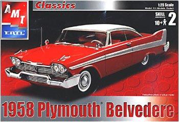 AMT Ertl 1958 Plymouth Belvedere 1:25 Plastic Model Kit