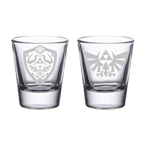 Legend of Zelda – Etched Shot Glasses