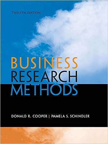 Amazon com: Business Research Methods eBook: Donald Cooper