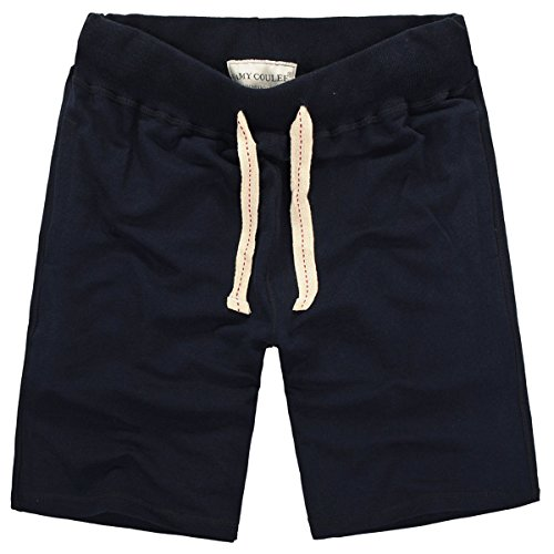 - Amy Coulee Men's Athletic Casual Shorts (XL, Navy)