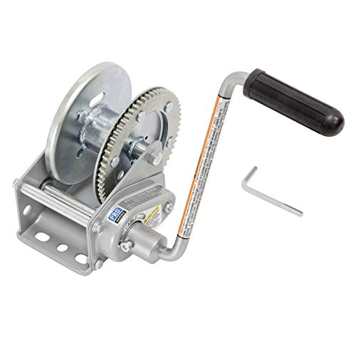 Pro Series KR15000301 Standard Series Brake Winch - 1500 lb. Load Capacity