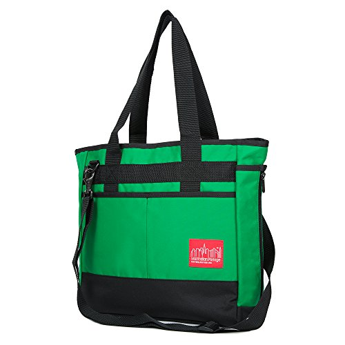 manhattan-portage-downtown-todt-hill-tote-bag-green