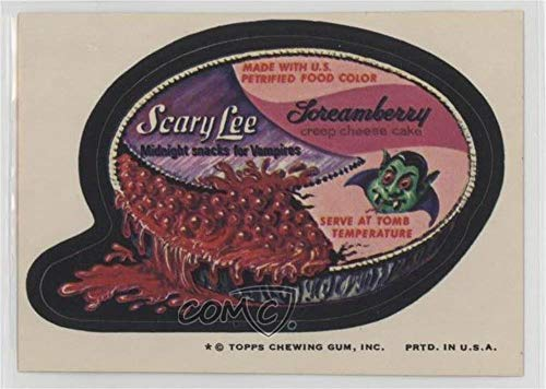 (Scary Lee (Trading Card) 1974 Topps Wacky Packages Series 8 - [Base] #SCAR )