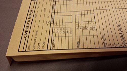 Cashier S Report Envelopes Expandable 250 Box Brown