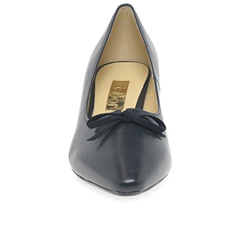 Gabor Perla Mujeres Arco Zapatos de Corte de Vestido 5 UK/38 EU Navy Leather/Suede