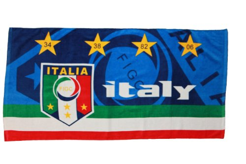 Italy Italia FIGC Logo Towel 56'' X 28'' .. FIFA Soccer World Cup .. New by SUPERDAVES SUPERSTORE