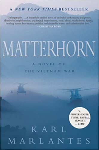 Image result for matterhorn novel vietnam war amazon