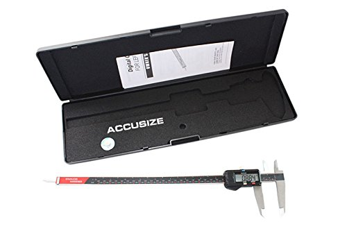 AccusizeTools - 12'' x 0.0005'' Left Hand Electronic Digital Caliper with Extra Large LCD Metric/Inch, #AB11-L112 by Accusize Industrial Tools (Image #1)