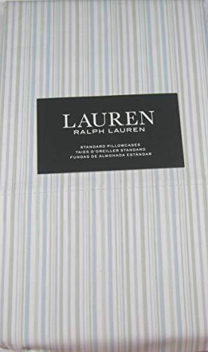 (Lauren Standard Multi Color Striped Pillowcases 100% Cotton 2 Pk.)
