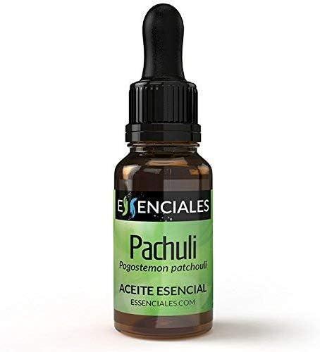 Essenciales - Aceite Esencial de Pachuli, 100% Puro, 30 ml | Aceite Esencial Pogostemon Cablin