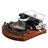YD Sculpture Crafts - Retro Vintage Typewriter Model Crafts Home Creative Multi-Functional Decoration [Size: 27.5cmx30cmx14cm] /&