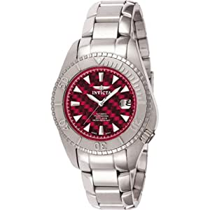 Invicta Men's 3357 II Collection Topissimo Automatic Red Carbon Fiber Dial Watch